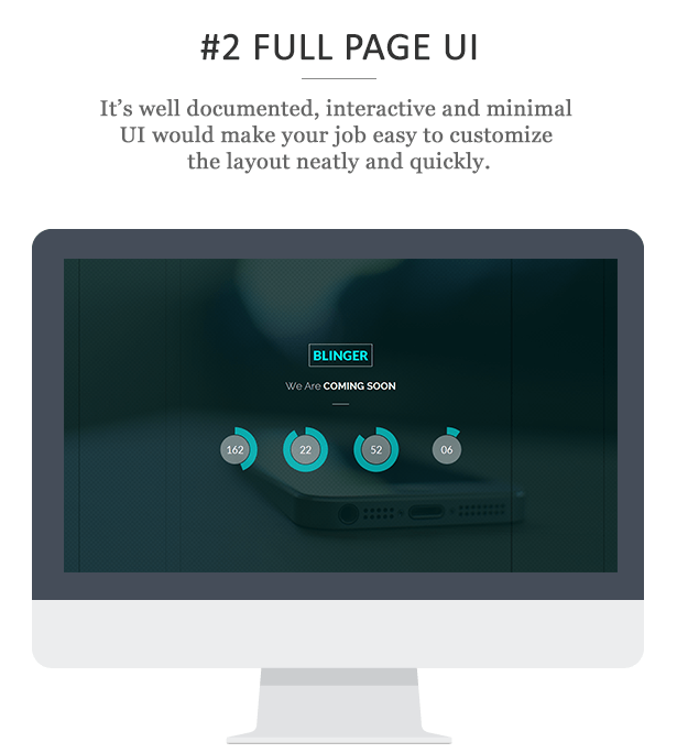 Blinger - Responsive Coming Soon Page