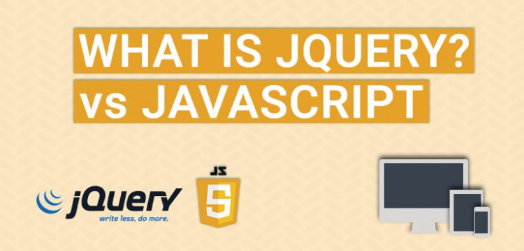What is the difference between jQuery and JavaScript?